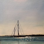 Karen Woods-View from Brant Point-10x8