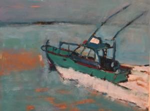 Megan Hinton - Passing Boat