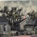 Westerlund - Mt Vernon St from Graveyard